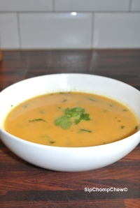 SCC Carrot and Coriander Soup Bowl