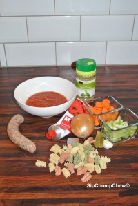 SCC Meatball Soup Ingredients