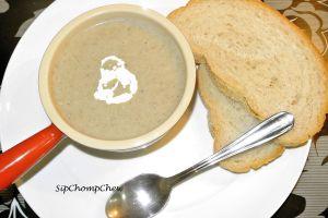 SCC Mushroom Soup Serving