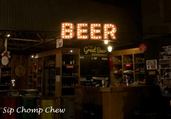 SCC Beer Sign
