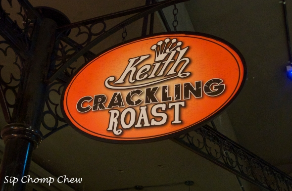 SCC Crackling Roast Sign