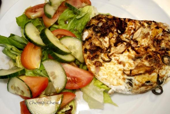 SCC Egg White Feta Omelette