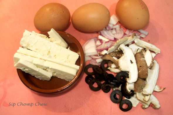 SCC Egg White Omellette Ingredients
