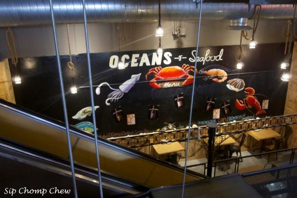 SCC Seafood Sign