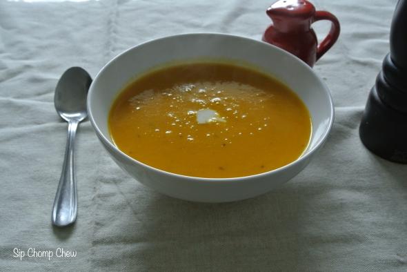 SCC Pumpkin Harissa Soup