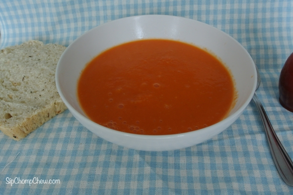 SCC Tomato and Lemongrass Soup