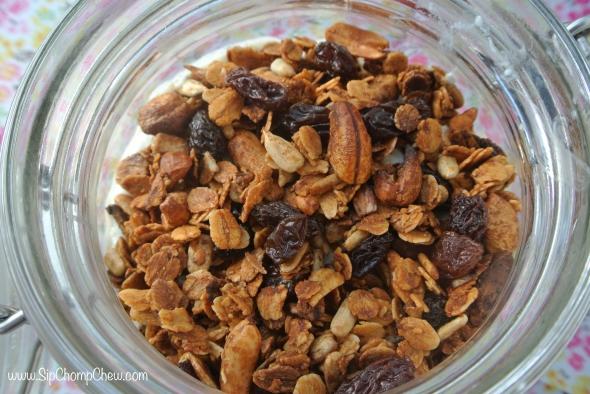 SCC Granola Close in Jar